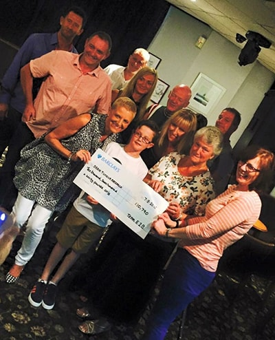 £10,800 Raised for Brain Tumour Research