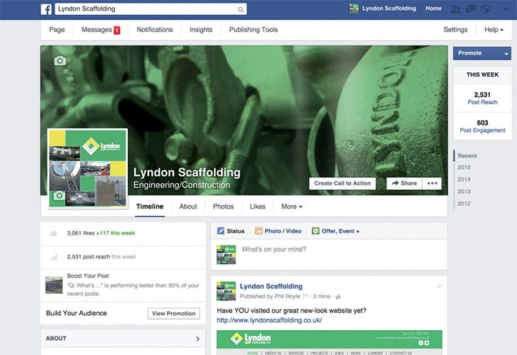 Facebook Page Hits 3000+ Likes