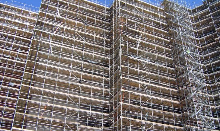 About Us - Our Approach - Materials - Braceless scaffolding system