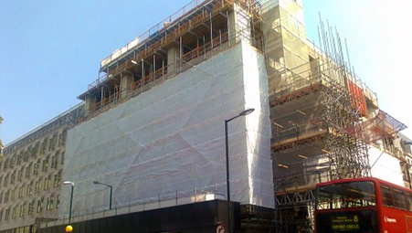5 Hanover Square - Project - Lyndon Scaffolding