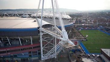Millennium Stadium Roof - Project - Lyndon Scaffolding