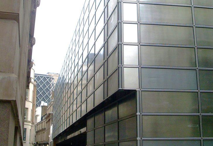 New Court St Swithin's Lane - Project - Lyndon Scaffolding