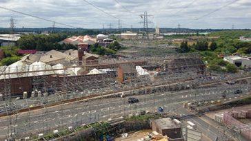 OHL Works Birmingham - Project - Lyndon Scaffolding