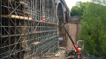 Ouseburn Viaduct - Project - Lyndon Scaffolding