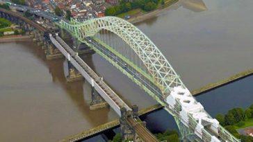 Runcorn Bridge, high level - Project - Lyndon Scaffolding
