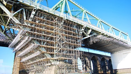 Runcorn Bridge - Project - Lyndon Scaffolding