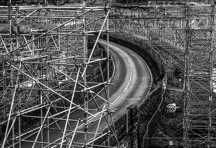 Stalybridge Powerline Access Scaffold - Project - Lyndon Scaffolding
