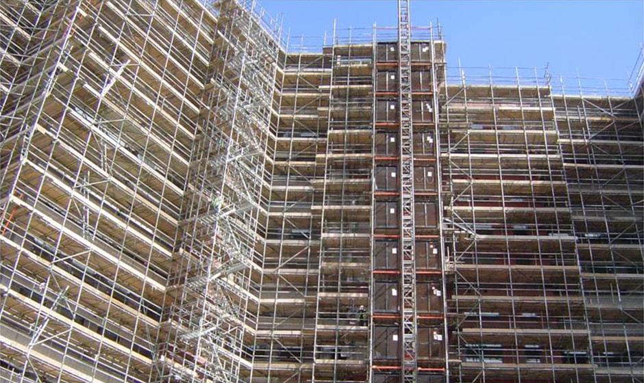 Education - Access scaffolding - Service - Lyndon Scaffolding