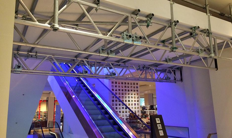 Retail - Access scaffolding - Service - Lyndon Scaffolding