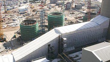 Industrial scaffolding