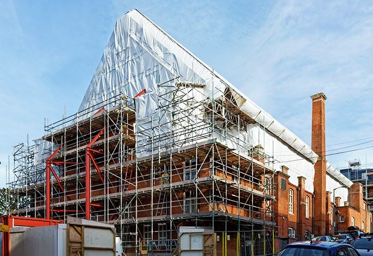 BAC Battersea - Project Lyndon Scaffolding