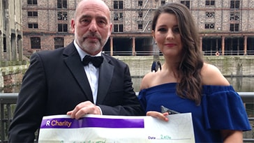 Lyndon Manager Raises £10,150 for Royal Liverpool Hospital