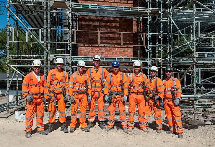Carillion Rail, Kettering - Project - Lyndon Scaffolding