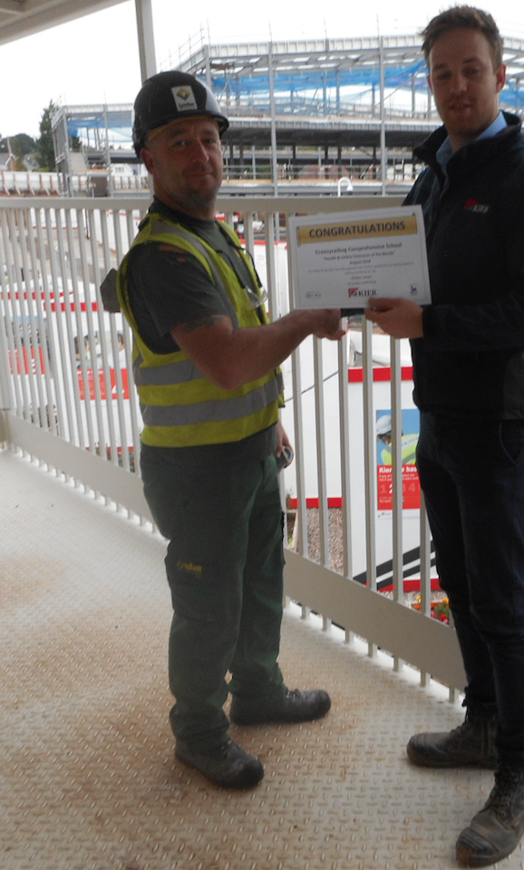 Gavin Jones Kier Safety Award